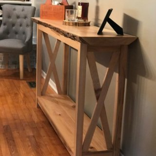 Maple Wall Table