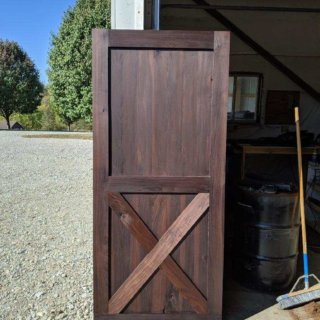 Thermally Modified Barn Door