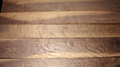 Curly Walnut Lumber