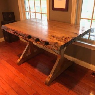 Live Edge Sassafras Desk